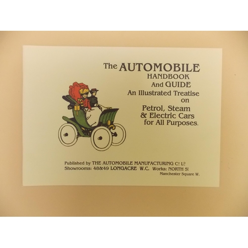 334 - The Automobile Handbook and Guide...
