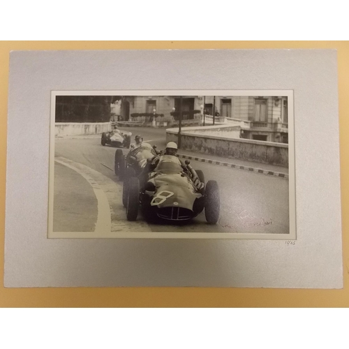 336 - Signed Limited Edition Photograph of Roy Salvadori...