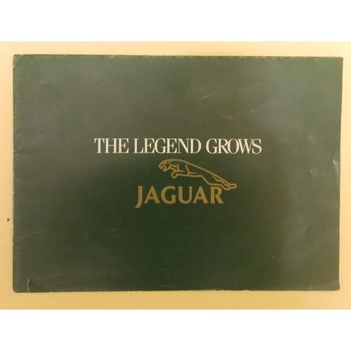 338 - Jaguar The Legend Grows Brochure...