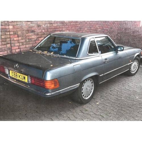 155 - 1987 Mercedes 420SL Registration No: E68 KUW...