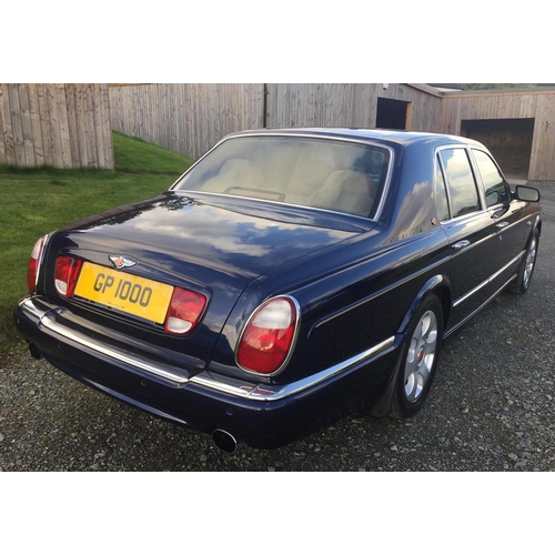 142 - 2000 Bentley Arnage Red Label Registration No: W64 ULO...
