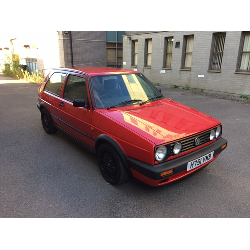 105 - 1990 VW Golf GTI Mk2 Registration No: H751 VMB...