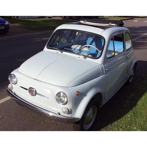 1963 Fiat 500D Transfomabilia