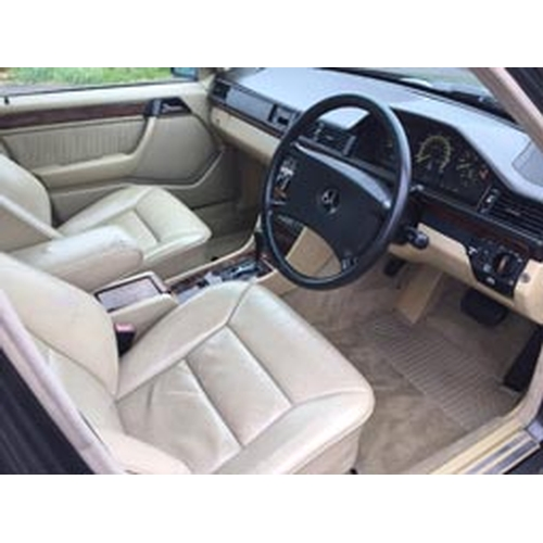 1989 Mercedes W124 300E Sportline Registration No: G569 YRF