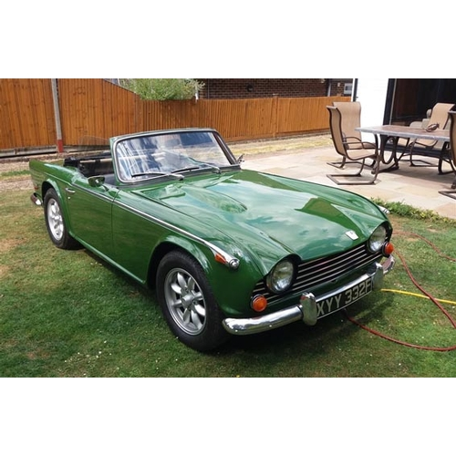 1968 Triumph Tr5 Pi Registration No Xyy 332f