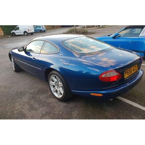 1997 JAGUAR XK8 REGISTRATION NO: P688 ACD