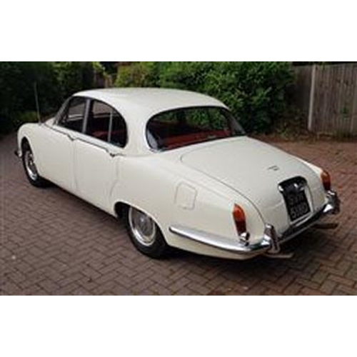 134 - 1966 JAGUAR 3.8 S-TYPE REGISTRATION NO: SNV 518N...
