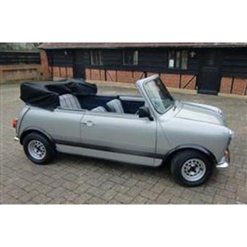 1979 Austin Morris Mini 1100 Special Convertible Registration No