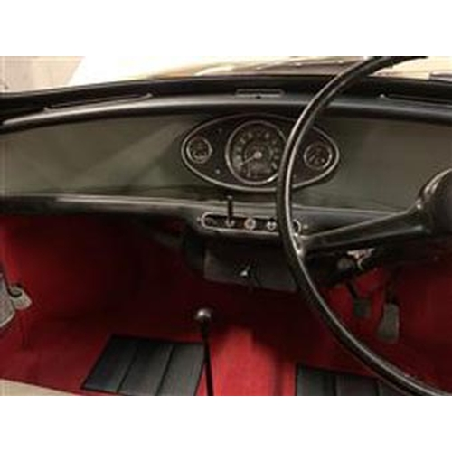 123 - 1964 MORRIS MINI COOPER REGISTRATION NO: AWU 282B...