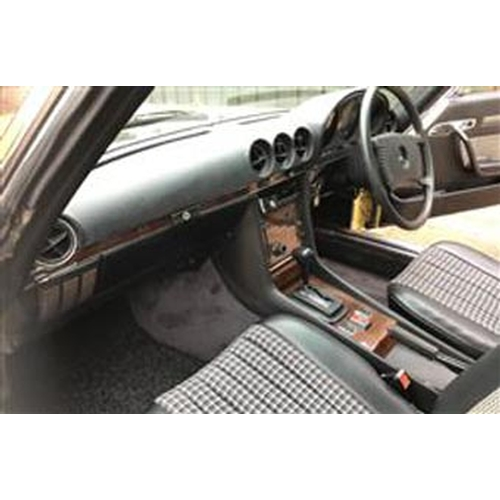 132 - 1979 MERCEDES-BENZ 350 SL REGISTRATION NO: BRX 516T...