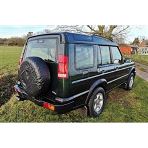 158 - 1999 LAND ROVER DISCOVERY TD5 ES REGISTRATION NO: T968 XDL...