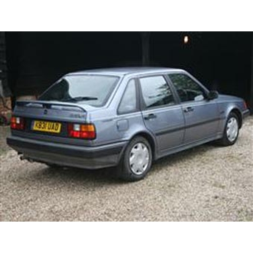 104 - 1993 VOLVO 440 XI 5 DOOR HATCH REGISTRATION NO: K831 UAD...