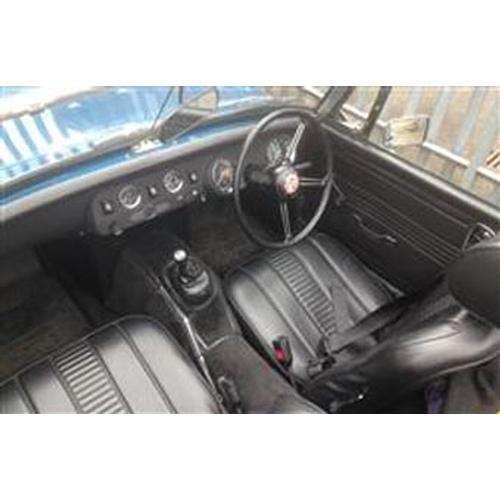 107 - 1972 MG MIDGET REGISTRATION NO: NMF 700L...