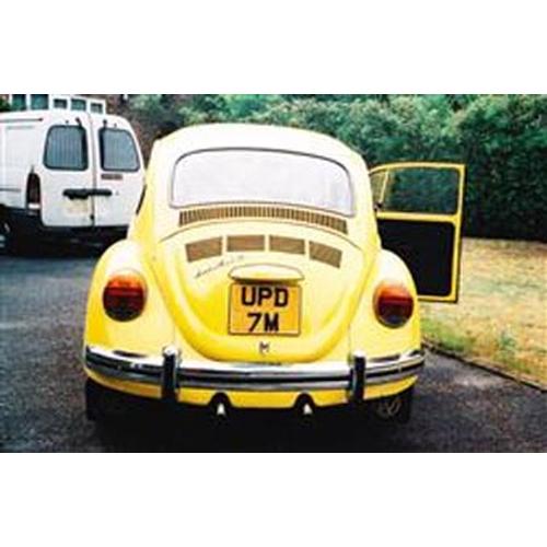 104 - 1973 VOLKSWAGEN BEETLE REGISTRATION NO: UPD 7M...