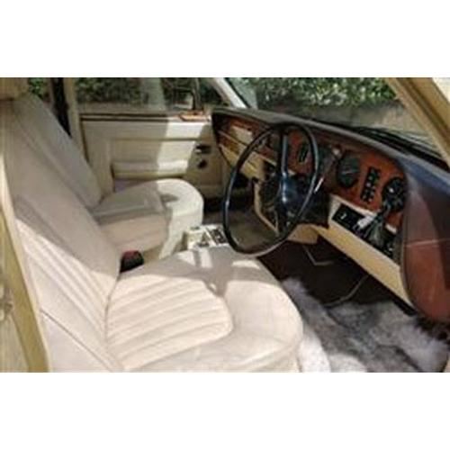 110 - 1982 ROLLS-ROYCE SILVER SPIRIT REGISTRATION NO: HIL 6018...