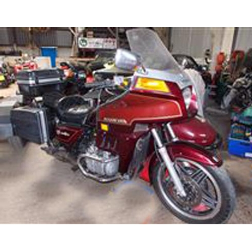 103 - 1982 HONDA GOLDWING WITH WATSONIAN SIDECAR REGISTRATION NO: SRN 600X...