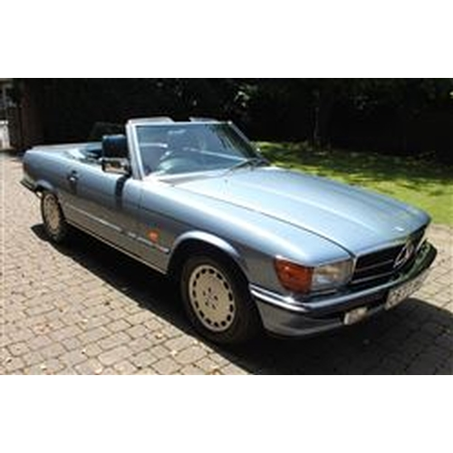 123 - 1986 MERCEDES-BENZ R107 420 SL REGISTRATION NO: C677 MGJ...