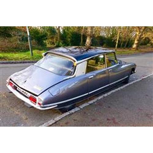 138 - 1972 CITROEN DS21 EFI PALLAS REGISTRATION NO: PHJ 733K...