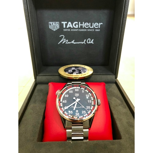 101 - TAG HEUER CARRERA MOHAMMED ALI LIMITED EDITION...