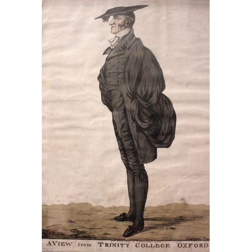 """50 - ROBERT DIGHTON, (ENGLISH 1751 – 1814), A SET OF FOUR FRAMED PRINTS, """"4 VIEWS"""", (i) John Ireland, """"Ir..."""