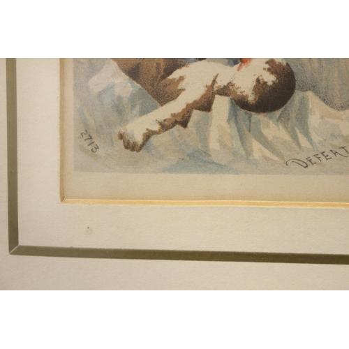 54 - JOHN WALLACE (AKA GEORGE PIPESHANK), (ENGLISH 1841 – 1903), AN ILLUSTRATED TOBACCO POSTEL / CARD DES...