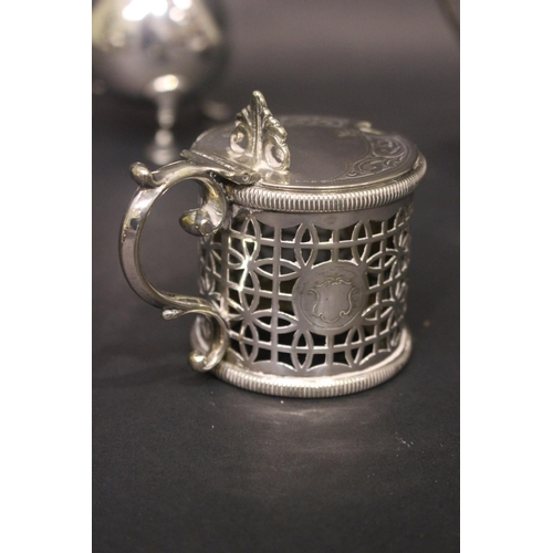 60 - A SILVER JUG, Mappin & Webb, London with date letter 'k' for 1905, with scalloped rim and acanthus l...