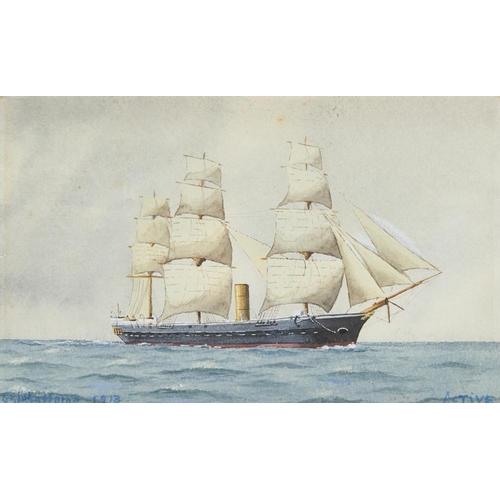 457 - <p>ST JOHN LENNOX SCOTT HORNE (1894-1961)  HMS