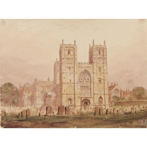 470 - <p>REV. JOHN LOUIS PETIT (1801-1868) SOUTHWELL MINSTER NOTTINGHAMSHIRE  watercolour, 23.5 x 33cm, un...