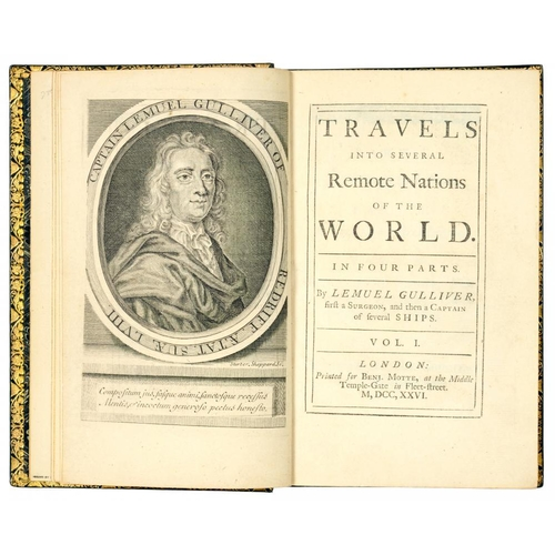 141 - <p>SWIFT, JONATHAN</p><p>TRAVELS INTO SEVERAL REMOTE NATIONS OF THE WORLD [GULLIVER'S TRAVELS]</p><p...