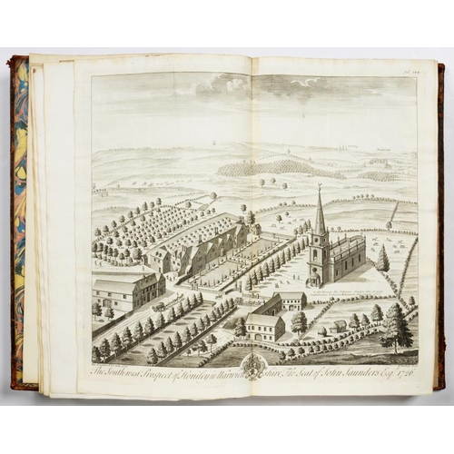 156 - <p>DUGDALE, WILLIAM</p><p>THE ANTIQUITIES OF WARWICKSHIRE</p><p>London, John Osborn and Thomas Longm...
