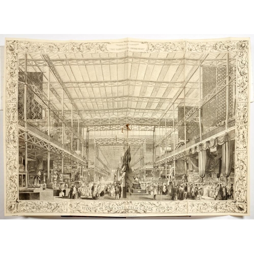 196 - <p>[THE GREAT EXHIBITION] ILLUSTRATED LONDON NEWS VOL 19 JULY TO DEC. 1851</p><p>London, William Lit...