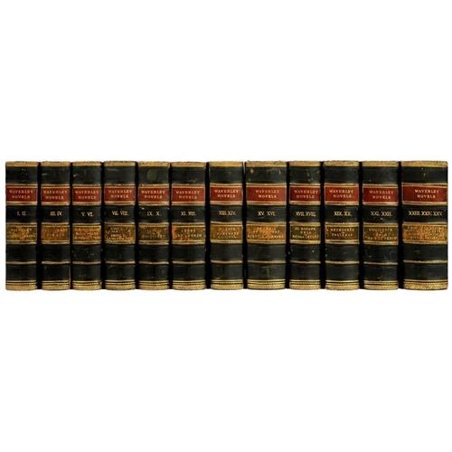 22 - <p>SCOTT, SIR WALTER </p><p>THE WAVERLEY NOVELS</p><p>Edinburgh, Adam and Charles Black, 1854-60. A ...