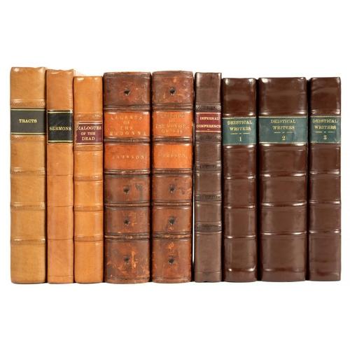 26 - <p>LELAND, JOHN </p><p>A VIEW OF THE PRINCIPAL DEISTICAL WRITERS </p><p>London, B Dod, 1754-1755. Fi...