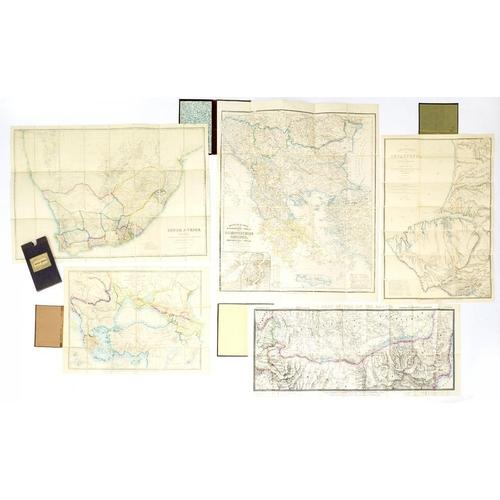 312 - <p>KIEPERT (H) general kartE von dem europaischen theile des osmanischen reiches nebst griechewland ...