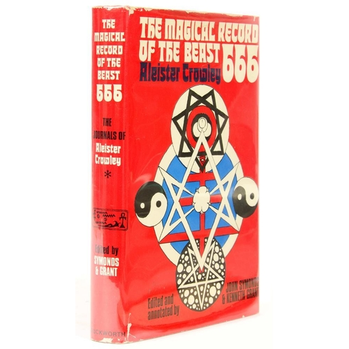 340 - <p>[CROWLEY, ALEISTER]</p><p>THE MAGICAL RECORD OF THE BEAST 666 * THE DIARIES OF ALEISTER CROWLEY.....