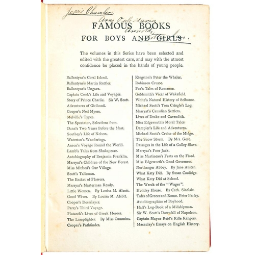 357 - <p>V[D H LAWRENCE] GOLDSMITH, OLIVER THE VICAR OF WAKEFIELD, JESSIE CHAMBERS' COPY  London, Blackie ...