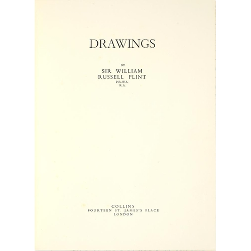 365 - <p>FLINT, WILLIAM RUSSELL</p><p>DRAWINGS</p><p>London, Collins, 1950. First edition, folio, limited ...