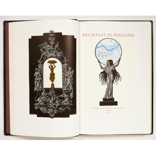371 - <p>FLINT, WILLIAM RUSSELL</p><p>BREAKFAST IN PERIGORD</p><p>London, 1968. First edition, number 16 o...