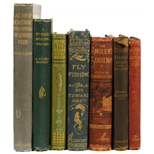47 - <p>[A COLLECTION OF BOOKS ON ANGLING] CLIFFE, JOHN HENRY</p><p>NOTES AND RECOLLECTIONS OF AN ANGLER<...