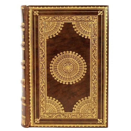 8 - <p>[FINE FRENCH FANFARE BINDING] - LA SAINTE BIBLE</p><p>Paris, Desclee et Cie, [1905]. Limited edit...