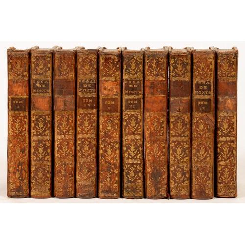 92 - <p>MONTAIGNE, MICHEL DE</p><p>ESSAIS DE MONTAIGNE, AVEC LES NOTES DE M. COSTE. NOUVELLE EDITION</p><...