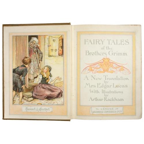 99 - <p>RACKHAM, ARTHUR (ILLUSTRATOR)</p><p>FAIRY TALES OF THE BROTHERS GRIMM </p><p>London, Constable & ...