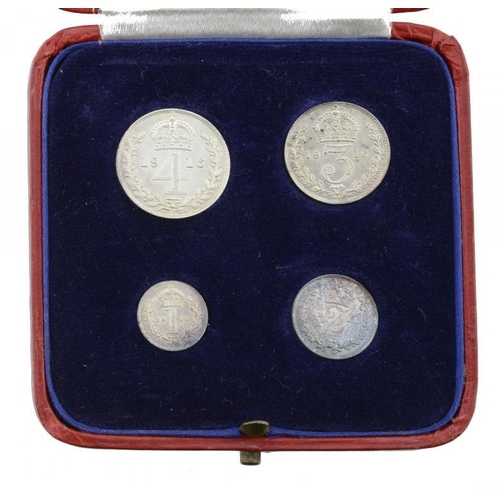 1130 - <p>MAUNDY SET.  GEORGE V, 1916, contemporary box, choice BU</p>...