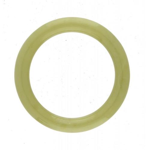 330 - <p>A CHINESE JADE BANGLE  8cm diam</p><p></p>...