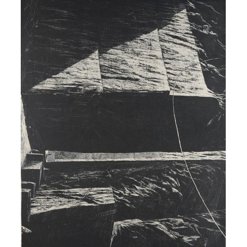 829 - <p>��EMMA STIBBON, RA (1962-)  CARRARA proof woodcut extra tothe edition of 35, signed by the artist...