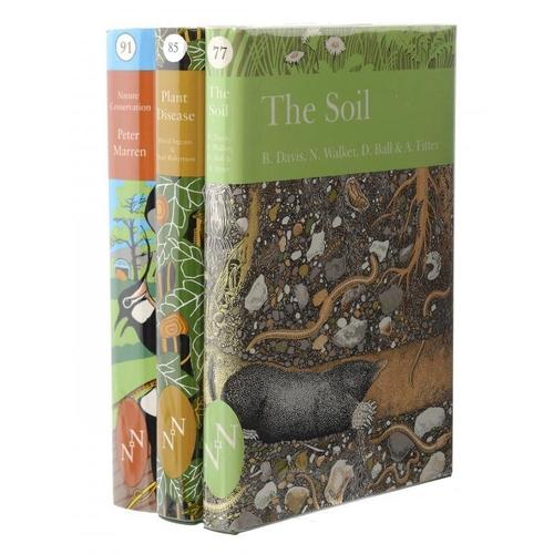 850 - <p>NEW NATURALIST LIBRARY.  MARREN (PETER) [ET AL] NATURE CONSERVATION, PLANT DISEASE AND THE SOIL  ...