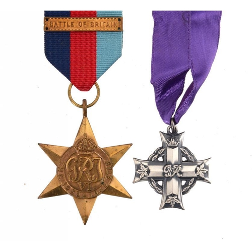 21 - <p>THE MEDALS OF SUB LIEUT JACK CONWAY CARPENTER (1919-1940) KILLED IN ACTION IN THE BATTLE OF BRITA...