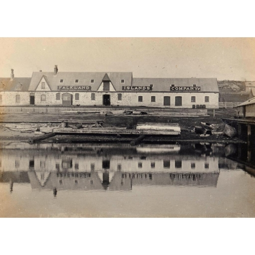702 - <p>FALKLAND ISLANDS.  TWO PHOTOGRAPH ALBUMS OF THE VERY REVEREND LOWTHER EDWARD BRANDON, MA (1846-19...
