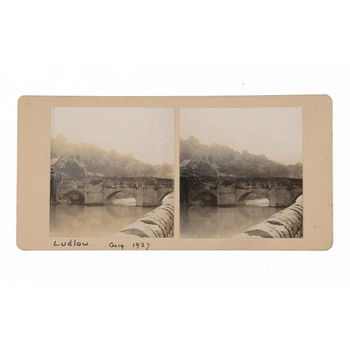 759 - <p>PHOTOGRAPHERS UNKNOWN, C1860-1920S STEREOSCOPIC VIEWS   various including Essex, Sussex, Shropshi...