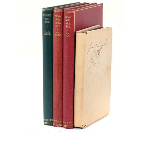 826 - <p>MILNE (A A) WINNIE THE POOH, 1926  8vo.  second edition, illustrated, half title, 1926, � - Now W...